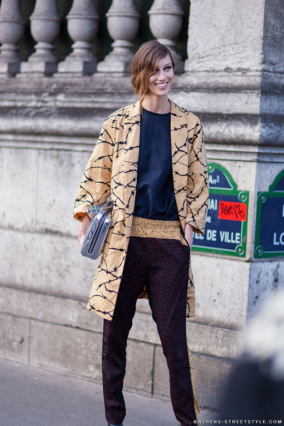 one more time in the name of that topper. #AlanaZimmer #offduty in Paris.