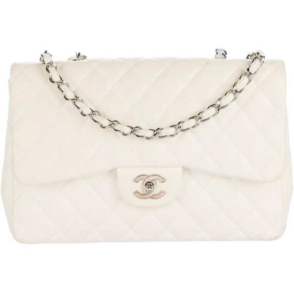 Pre Owned Chanel Classic Jumbo Single Flap Bag 7 910 Brl Liked On