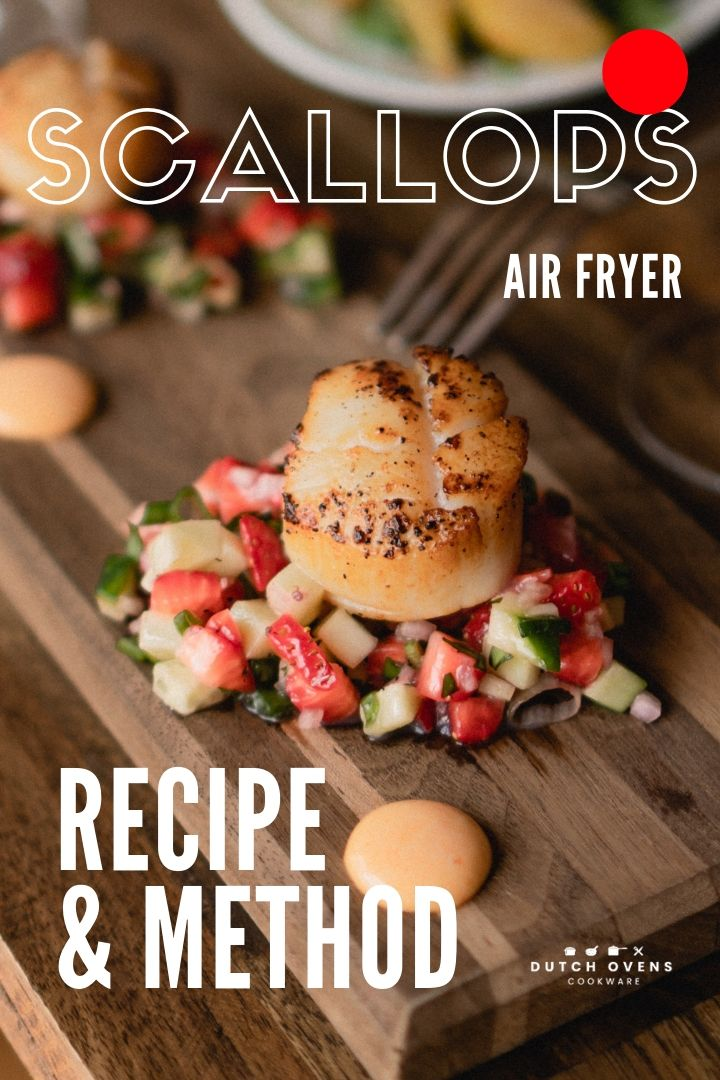 Air Fryer Scallops …You Won't Believe How Good They Are