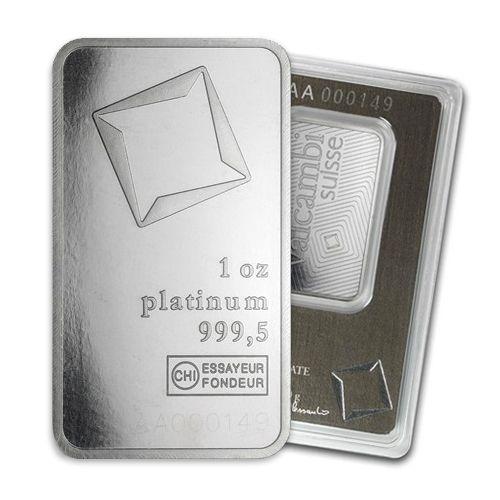 Each Bar Contains 1 Oz Of Platinum Bars Are 99 9 Fine Platinum Numismatic Coin Collecting Numismatic Coins
