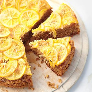 This gorgeous take on a classic upside-down cake with a layer of vibrant Meyer lemons. Recipe: Meyer Lemon Upside-Down Cake   - Delish.com