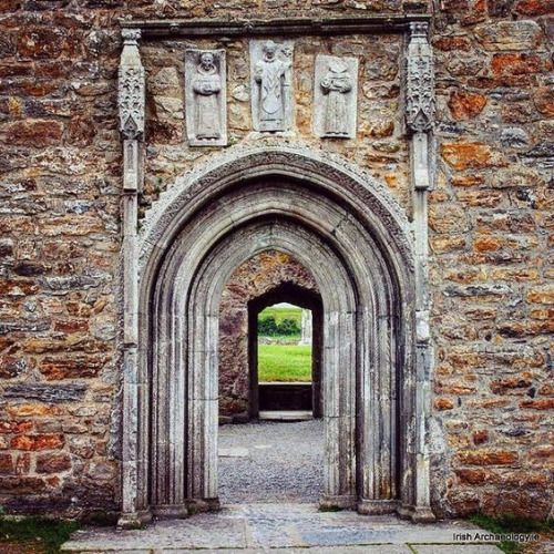 The Whispering Door Clonmacnoise Co Offaly Ireland. 15th century. & The Whispering Door Clonmacnoise Co Offaly Ireland. 15th century ...