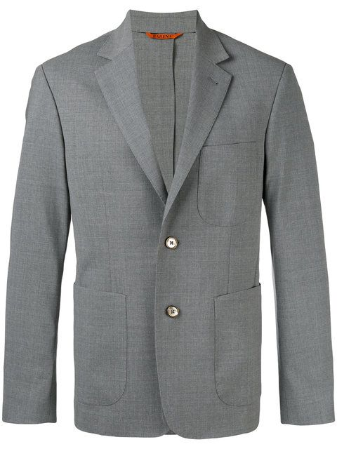 BARENA VENEZIA BARENA - TWO BUTTON BLAZER . #barenavenezia #cloth #blazer