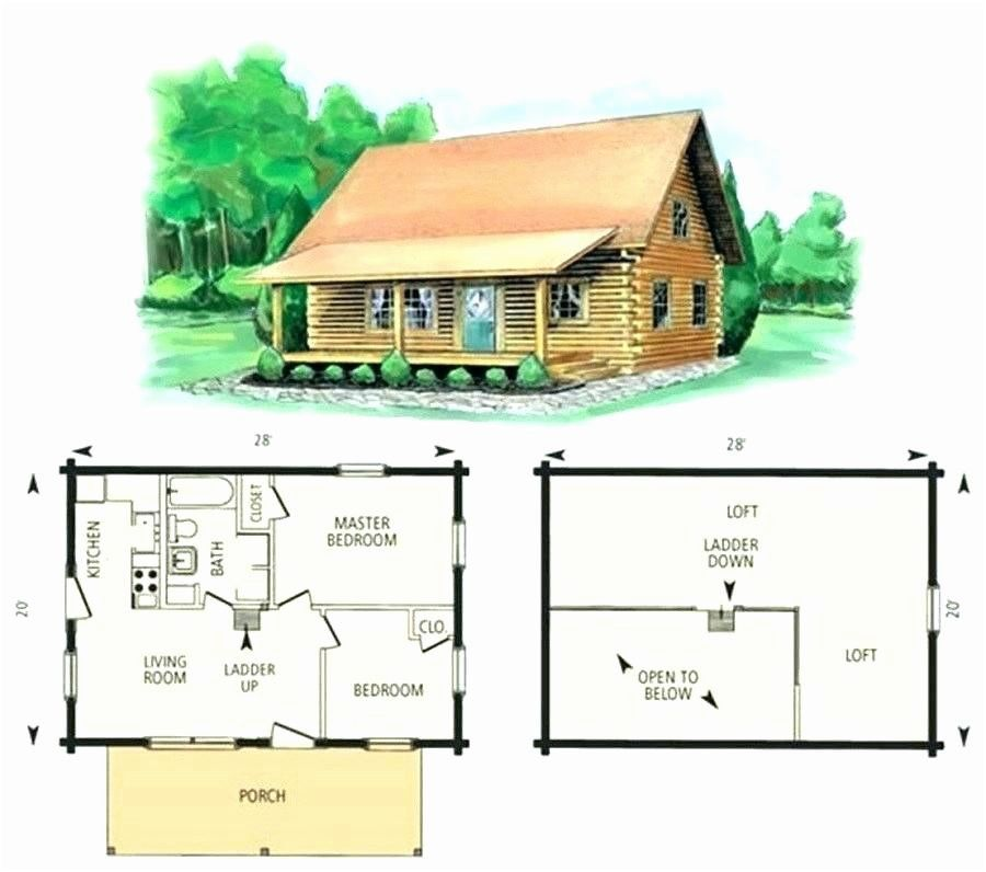 Free Small Cabin Plans With Loft Log Cabin Floor Plans Log Cabin Plans Cabin Plans With Loft
