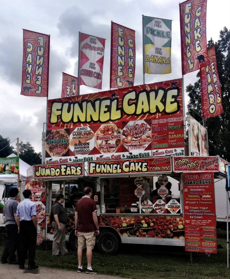 Funnel cake at ribfest toronto fundraisemeetsamerica