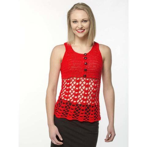 Premier Warm Weather Tank Free Download Crochet Patterns