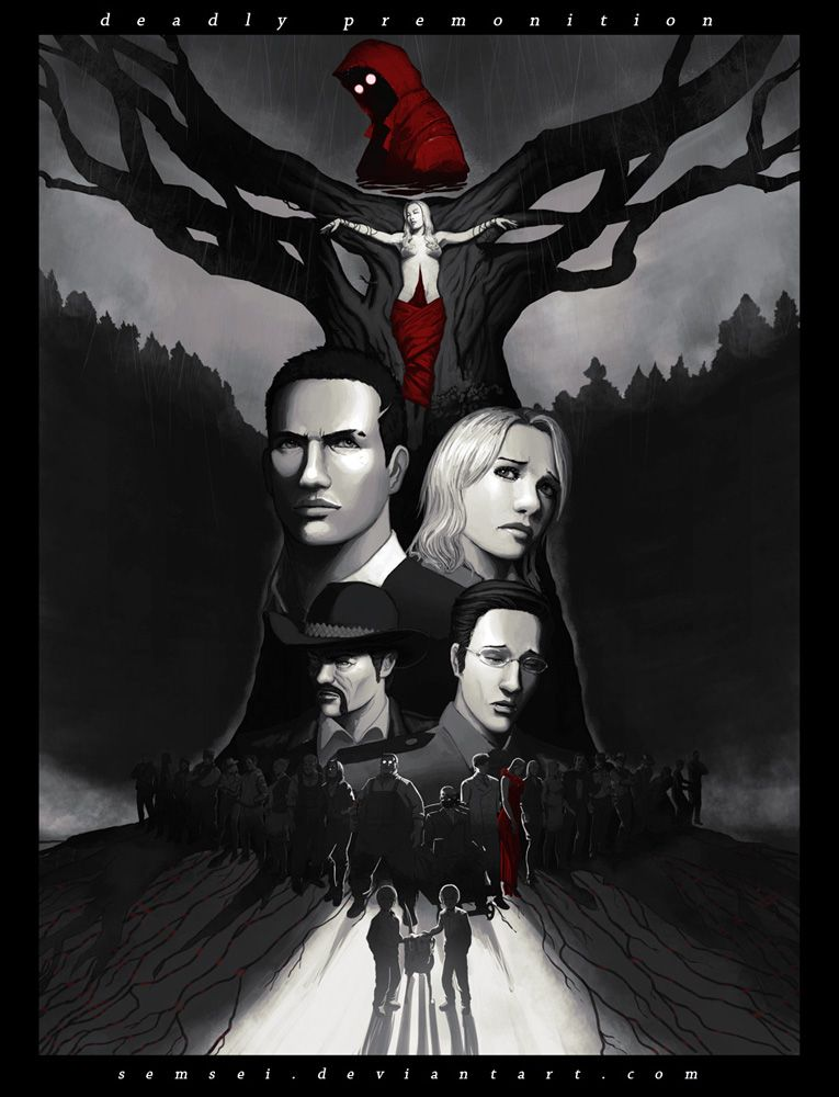 Deadly Premonition by ~semsei on deviantART