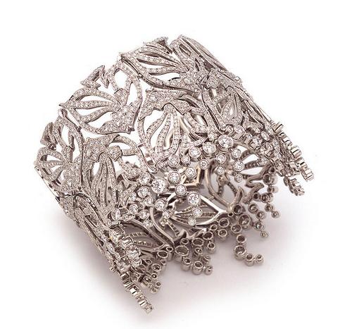 Sultanesque - Ramage diamond cuff, voila