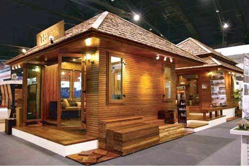 Rumah Kayu Sederhana Untuk Jualan Rumah Kayu Desain Rumah Rumah
