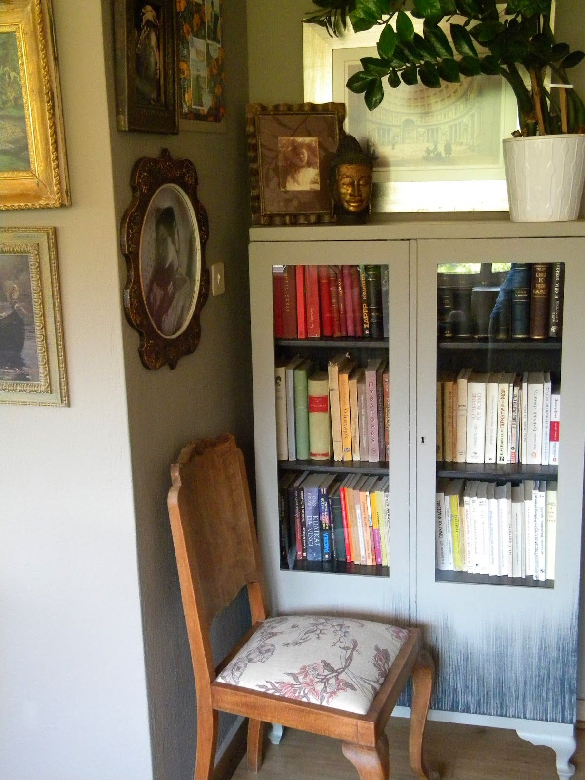 Stay Sunny Studio: A day at Ifigenia's Home και συνταγή χειροποίητης Chalk-y Paint