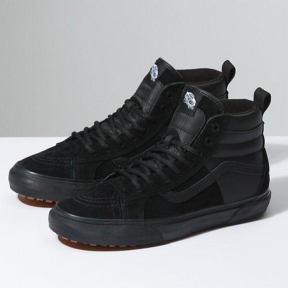 vans sneakers black 46