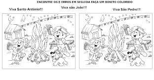 Resultado de imagem para atividade de festa junina educação infantil