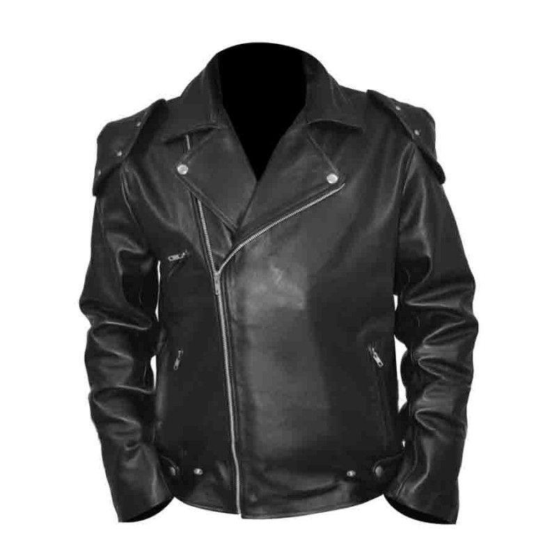 In 2019 Leather Jacket Black Rockatansky Max Mad KT3F1ulcJ