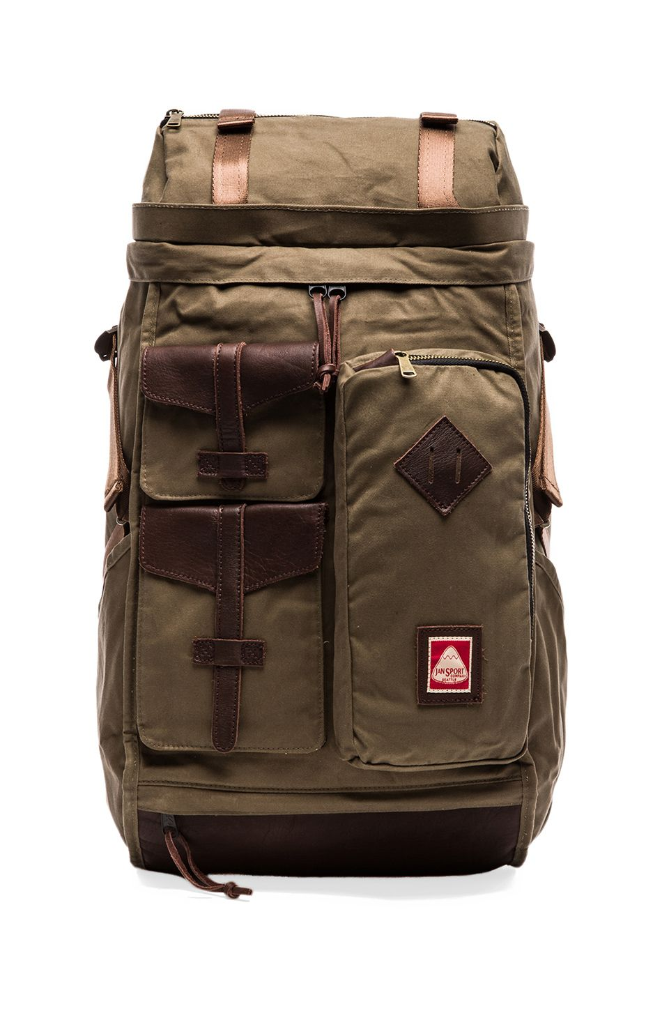 Jansport Skip Yowell Collection Lhasa in Army Green   REVOLVE ...