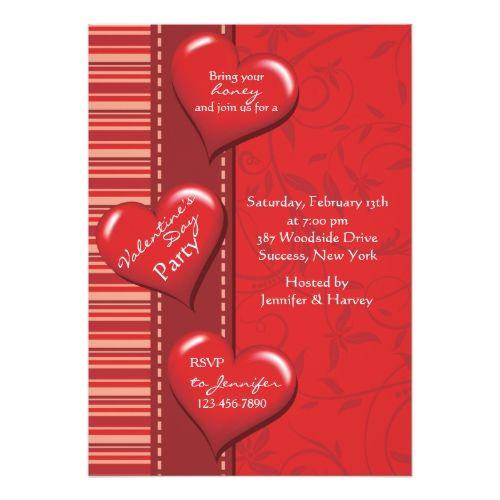 Heart Of Mine ValentineS Day Party Invitation  Valentine Day