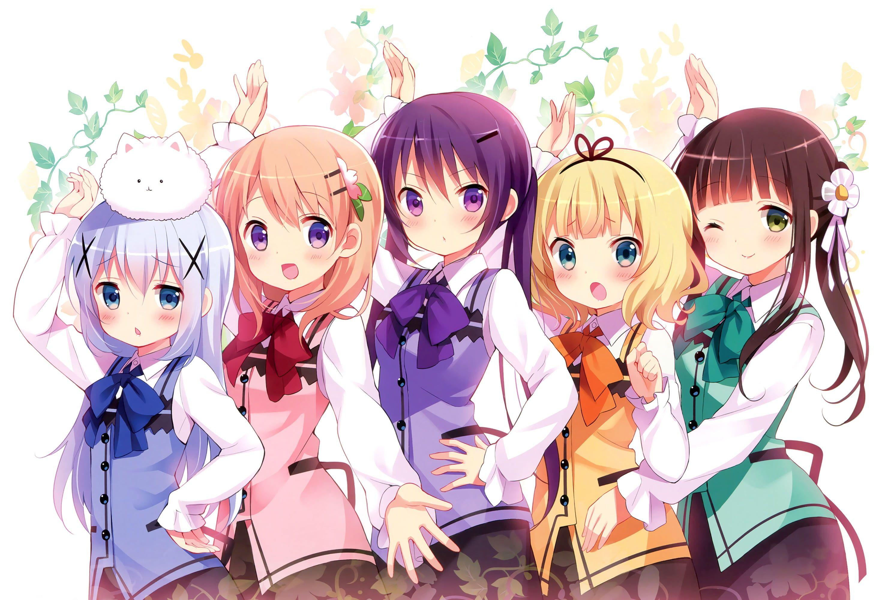Pin On Gochiusa Anime friends wallpaper hd