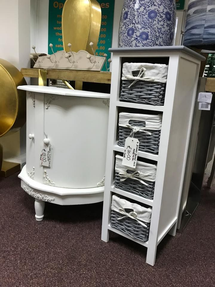 4 Drawer Chest With Baskets