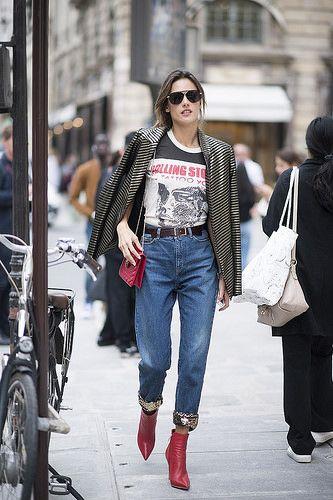 Os melhores looks do street style da semana de moda Paris  Primavera ... 6b30e453d164