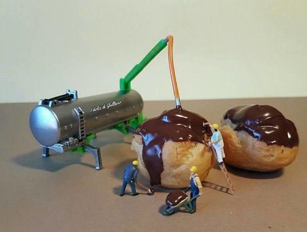 Matteo Stucchi Italian Pastry Chef Creates Miniature Worlds With Desserts