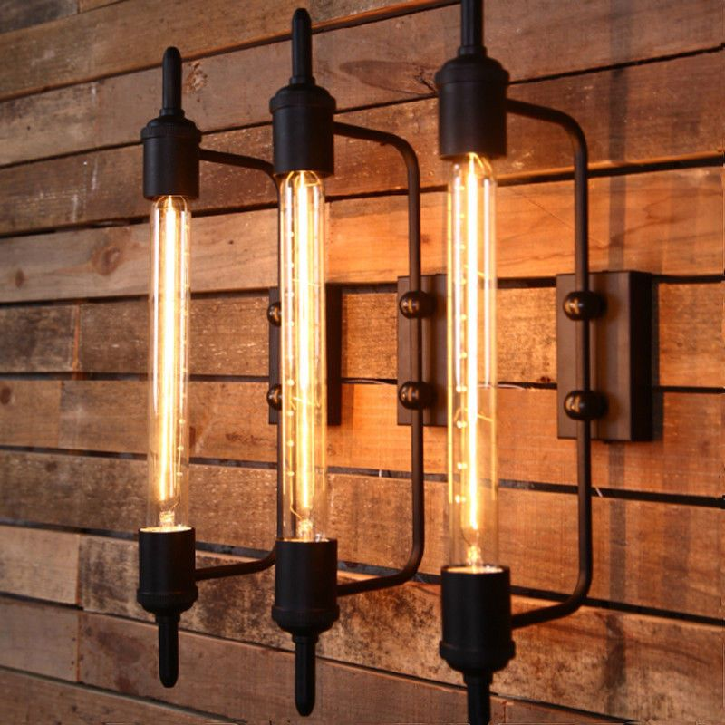 Industrial Style Wall Lamp Steampunk Edison Wall Sconce Light Hallway Fixtures 761780099973
