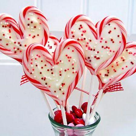 Sweet Heart Valentine Pops Recipe - http://www.pindandy.com/pin/2494/