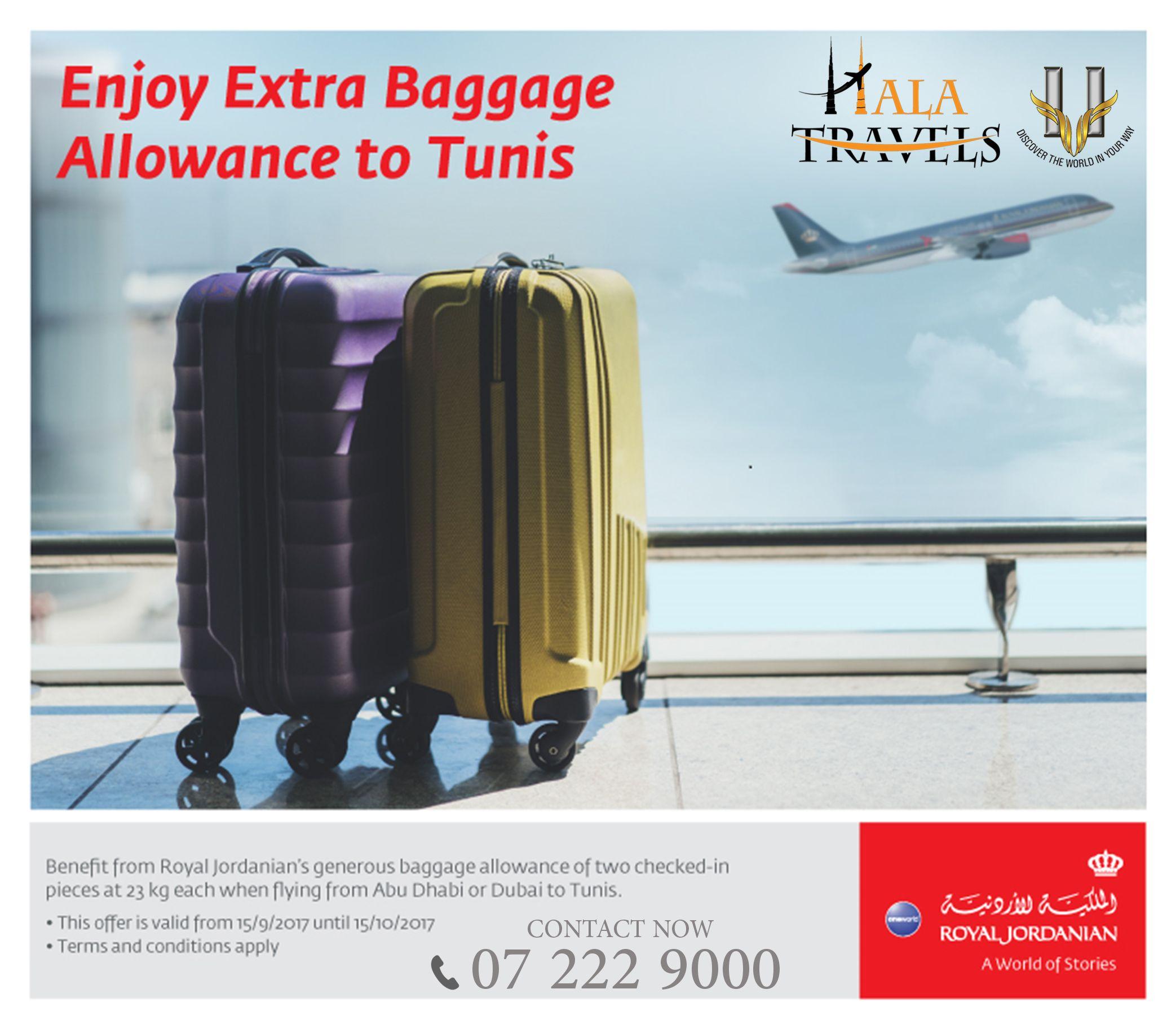 air jordanian baggage allowance