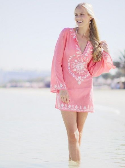 377ed4e0179 Ladies Mustique Kaftan | Tunics | Kaftan, Beachwear for women, Beachwear