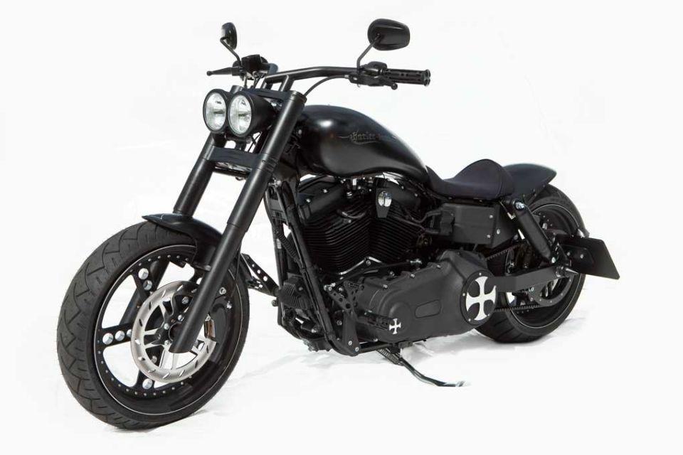 Harley-Davidson Dyna Umbau | Thunderbike Dyna Black