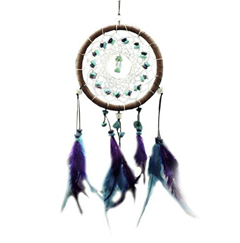 Decorative Bell Special Decorative Wind Bell With Beautiful Feather And Net