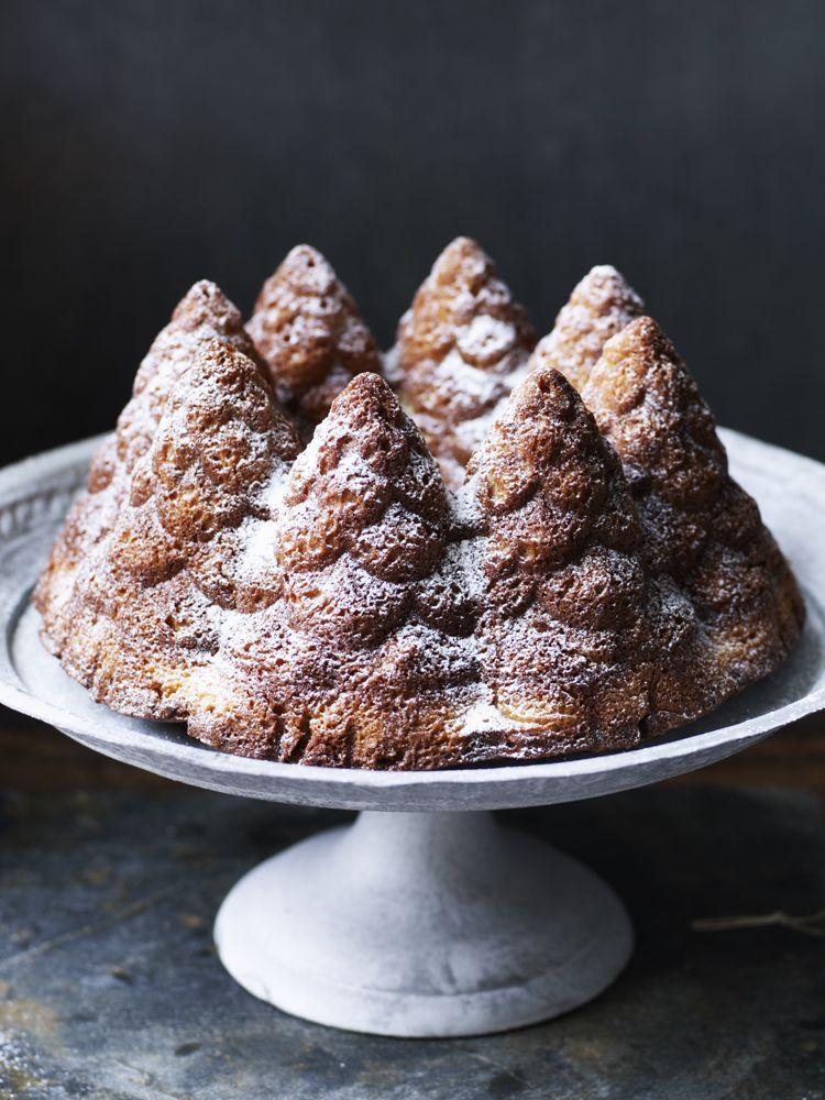 Sprucedup vanilla cake Recipe Nigella christmas