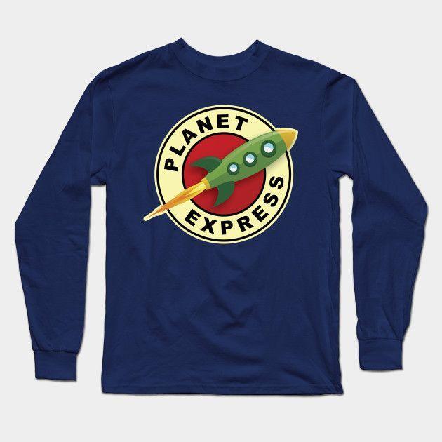 Futurama Planet Express Long Sleeve T-Shirt