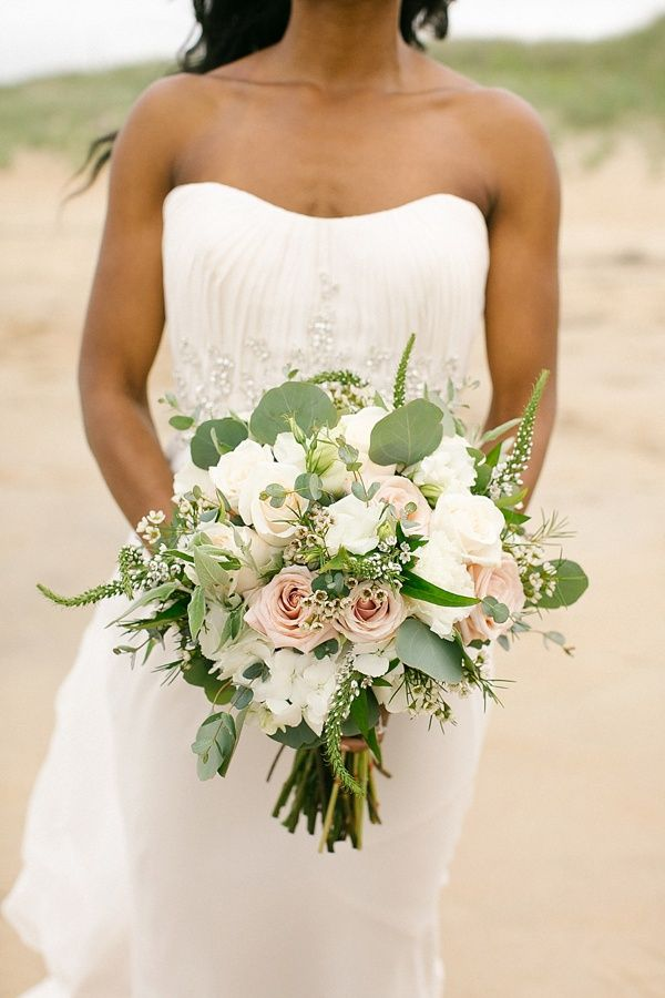 Windswept Intimate Wedding on the Seashore