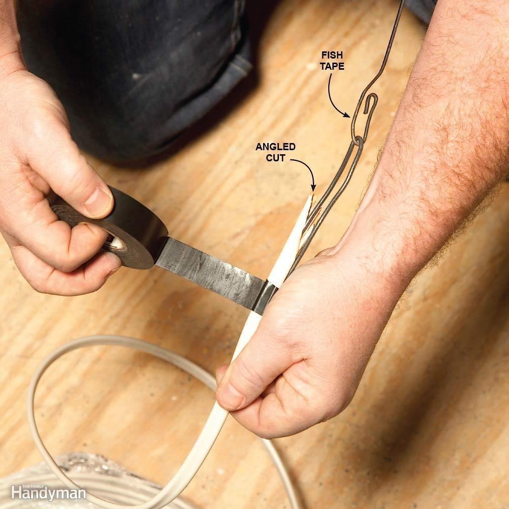 9 Tips for Easier Home Electrical Wiring Fish Electrical wiring