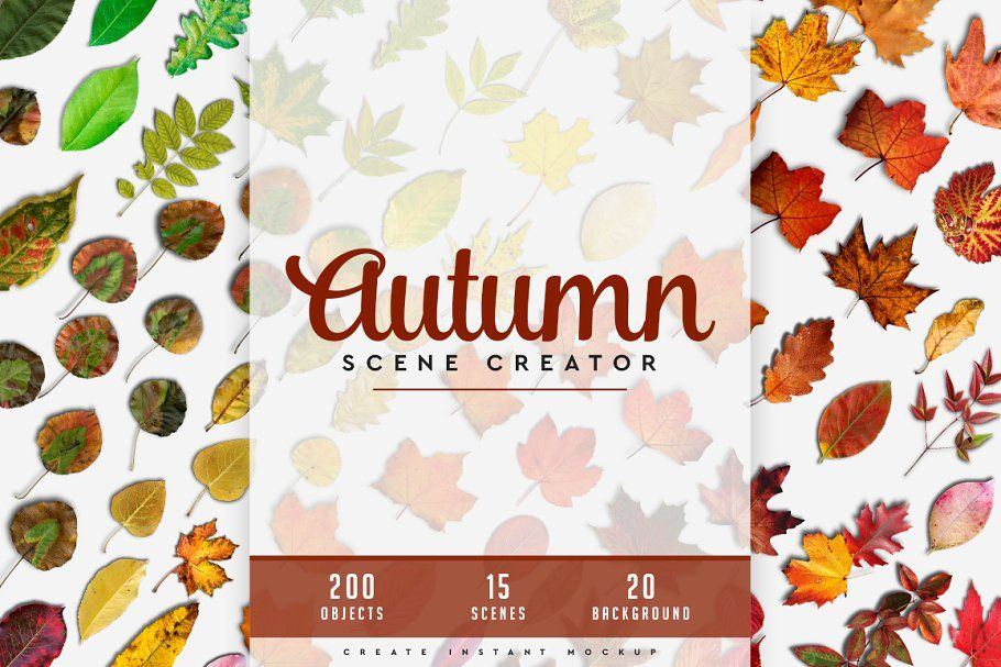 Autumn Scene Creator #01 , #ad, #images#quality#poster#showcase #Ad #autumnscenes
