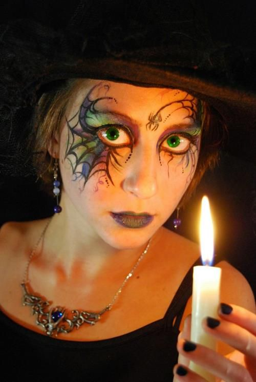 Cute and Scary Witch Makeup Ideas For Halloween - 1 - Pelfind - cute makeup ideas for halloween