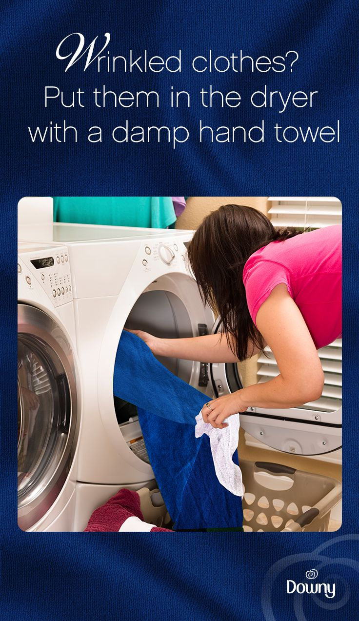 Are you tired of having to iron your clothes after laundry