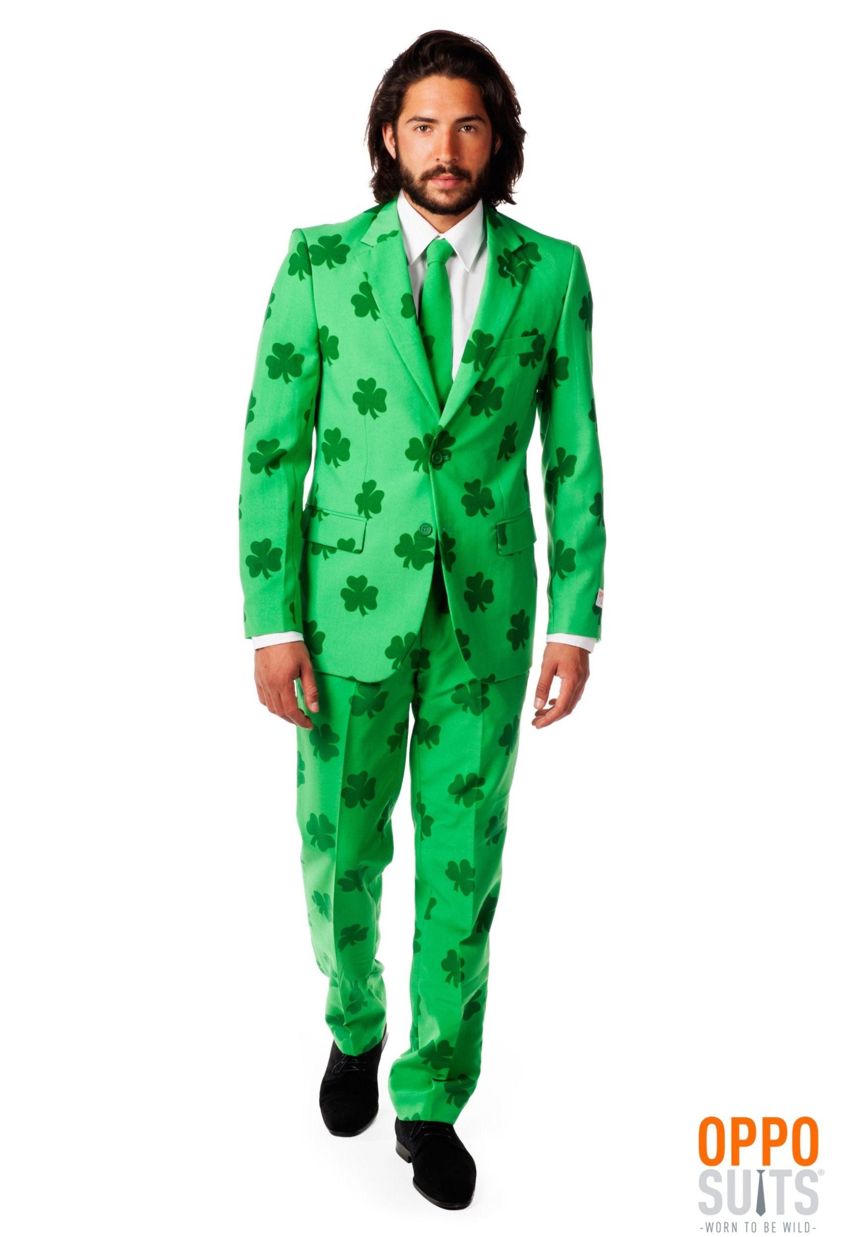 Menus opposuits green st patrickus day suit men costumes pinterest