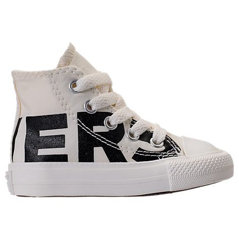 0fc96f8a07f672 CONVERSE BOYS  TODDLER CHUCK TAYLOR ALL STAR WORDMARK HIGH TOP CASUAL  SNEAKERS