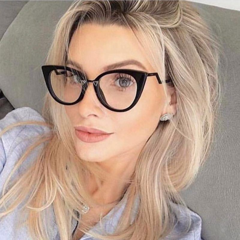 e637c2cf7 Óculos / Armação de Grau – Fendi Orchidea FF 0119 – Preto   óculos ...
