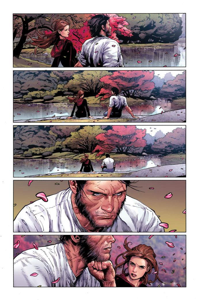DEATH OF WOLVERINE #3 ... SEPTEMBER 24 2014 creators Charles Soule & Steve McNiven Bruised and beaten from his last battle, the once indestructible killing machine returns to his wandering samurai roots as he ventures back to the Japan with Kitty Pryde in tow. Only not all is as it seems in the Land of the Rising Sun. With no greater opportunity than the present an old foe emerges, ready to end the Wolverine. Ogun has returned, prepared for his revenge.