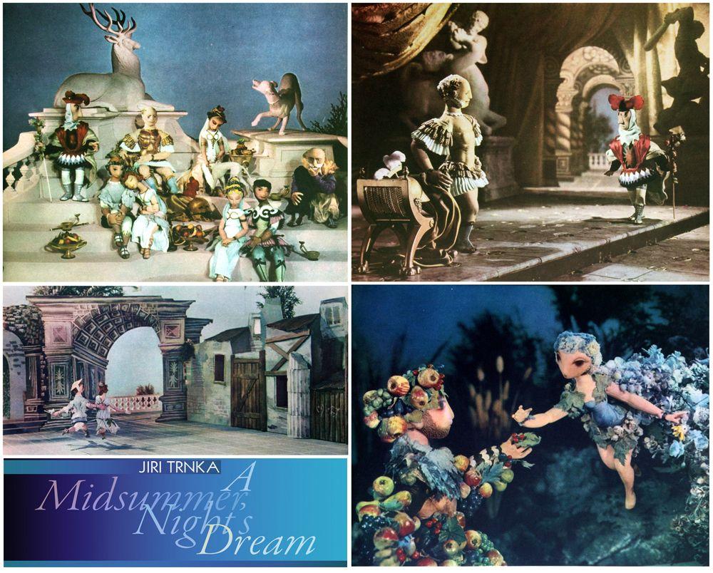 A Midsummer Night's Dream (Sen noci svatojánské) - Czechoslovakia (1959) Director - Jirí Trnka