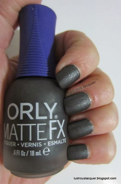 Orly Matte FX Iron Butterfly-Lustrous Lacquer