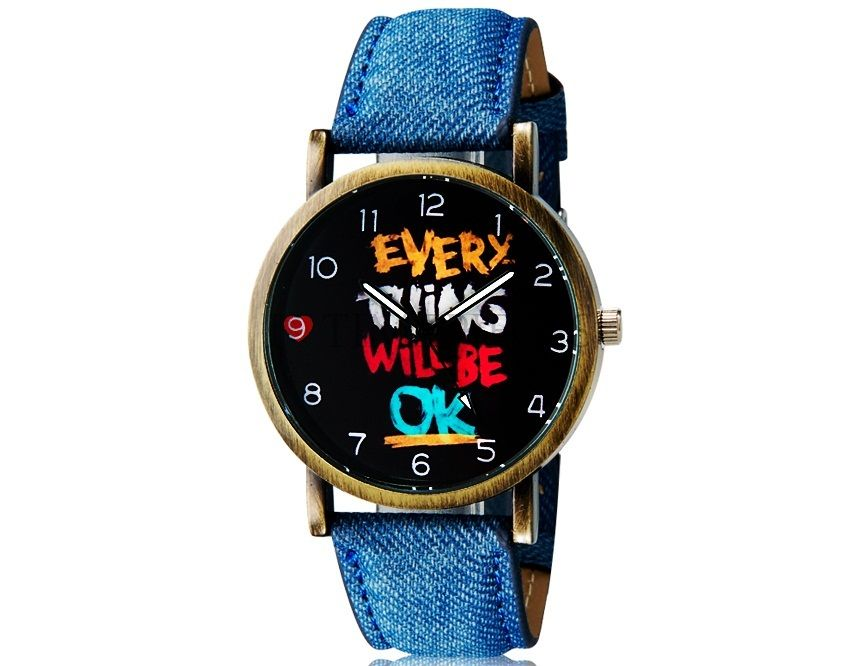 Woman Watch Every Thing Will Be Ok. Shop online on: ilovetimepieces.com