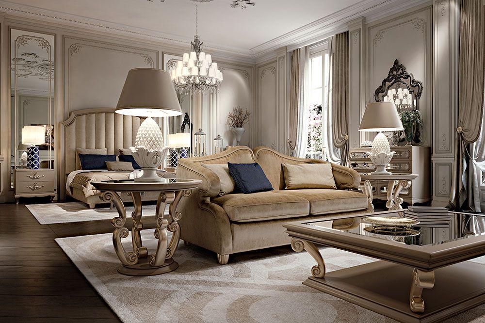 Italian Furniture Formal living room decor, Luxury