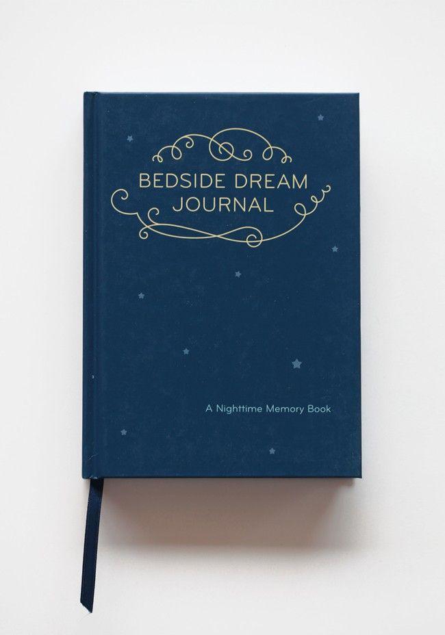 Bedside Dream Journal   Modern Vintage Home & Office