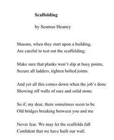 poem digging seamus heaney