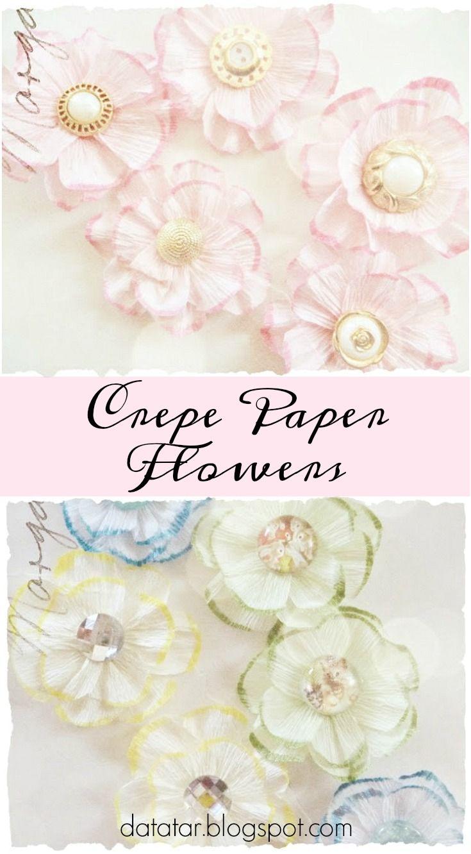 Crepe Paper Flower Tutorial Zeus And Zoe Paper Flower Tutorial