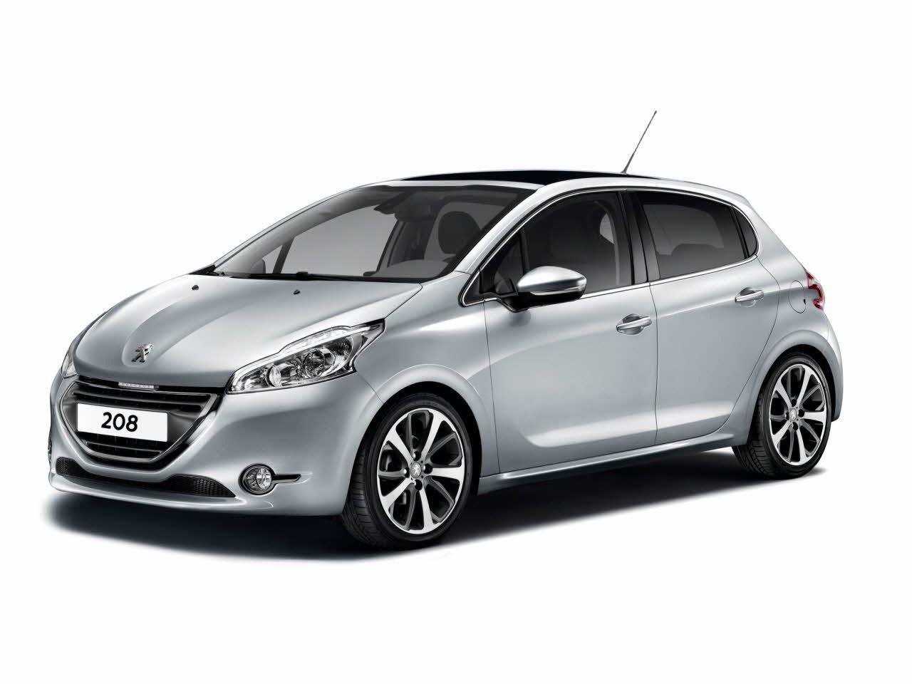 Peugeot 208 Gris Location De Voiture Voiture