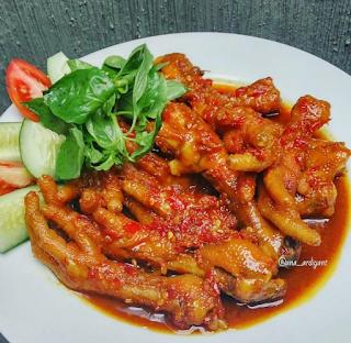 Http Sukaboga Blogspot Com 2017 07 Resep Ceker Rica Rica Html Makanan Pedas Resep Daging Masakan