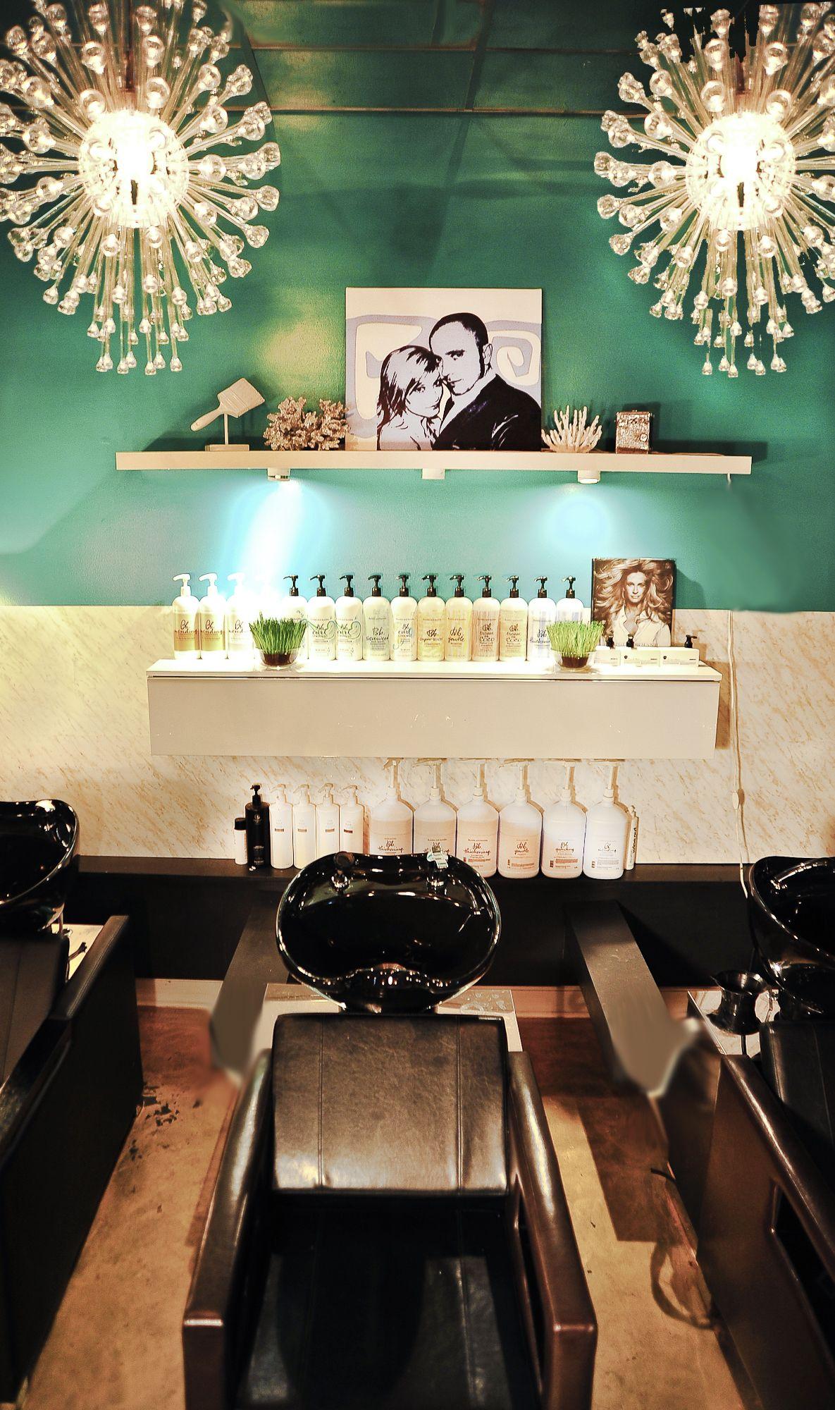 Elysium Salon Vintage Glam Shampoo Room By Jesse Vickers